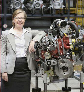 Margarete Haase, Vorstand Deutz AG
