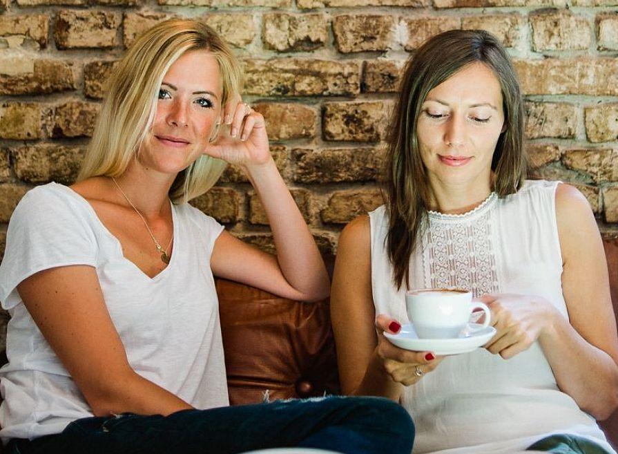 Christine Winkler und Yvonne Holesch, Gründerinnen von Peaxs.de