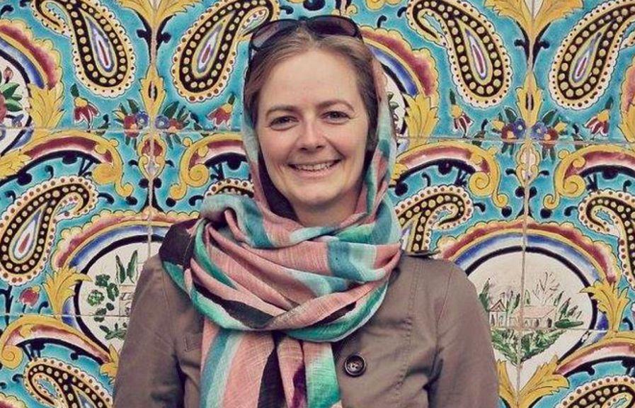 Sara Usinger, Arbeitsstätte Teheran