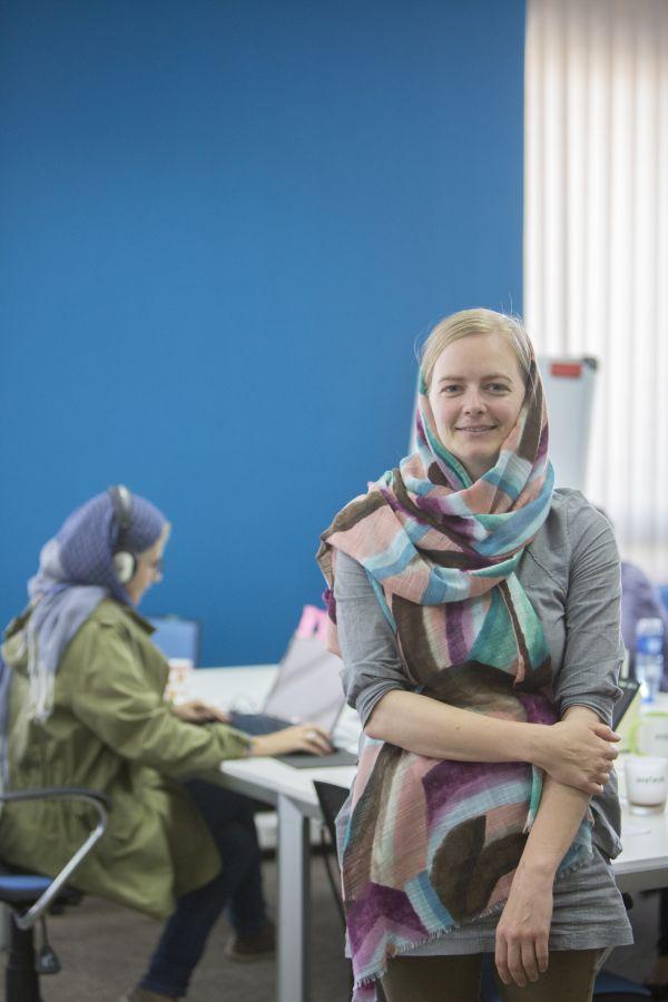 Sara Usinger bei Avatech