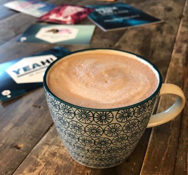 Mittagspause ohne Kaffee? Eher nicht, findet Lina Timm. Bild: Lina Timm