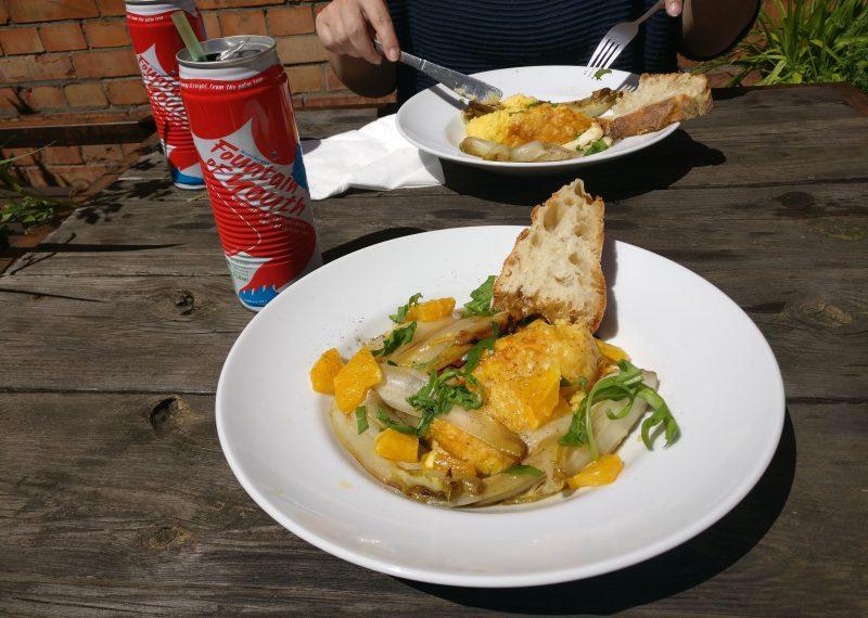 Polenta zum Mittagessen