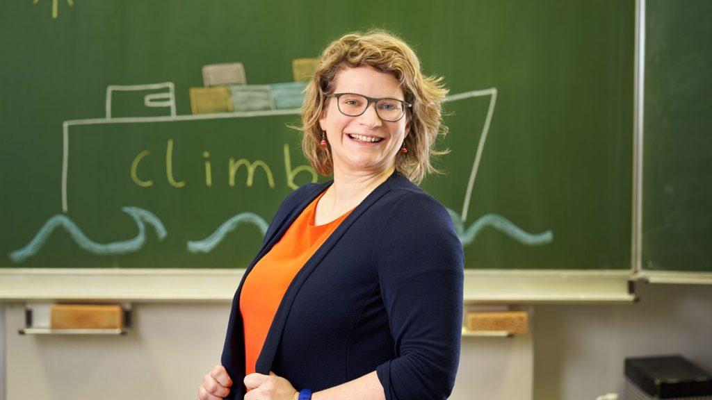 Jennifer Busch, Co-Gründerin von climb-Lernferien. Bild: Jens Hannewald