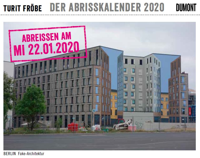 Fake-Architektur in Berlin Bild: Turit Fröbe