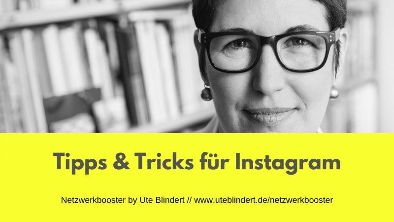 Instagram - Tipps und Tricks für den netten Kanal
